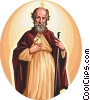 Saint Jude Thaddaeus Vector Clipart graphic