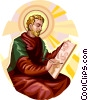 Saint Luke Vector Clipart picture
