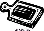 Schneidebrett clipart  Schneidebrett Vektor Clipart Bild -vc031498-CoolCLIPS.com