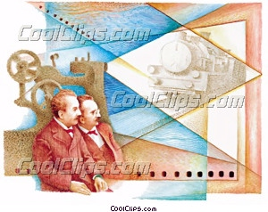 Lumier Brothers Fineart Raster illustrazione clipart wb023228