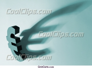 euro symbol Royalty Free Stock Photo Clipart wb025319