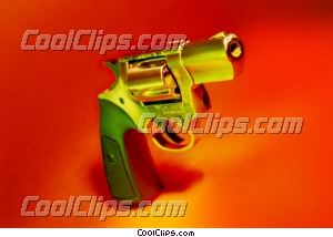 revolver/pistol Royalty Free Stock Photo Clipart wb025331