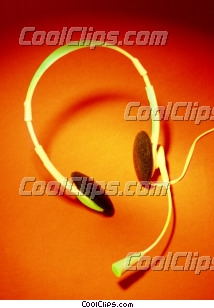 headset Royalty Free Stock Photo Clipart wb025336