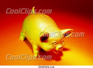 Piggy Bank photo libre de droits clipart wb025358