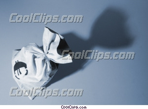 bag of money, euro Royalty Free Stock Photo Clipart wb025529