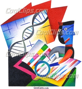 Science Royalty Free Fineart Raster Illustration Clipart wb032107