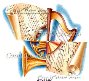 Instrument Groups Royalty Free Fineart Raster Illustration Clipart wb042610