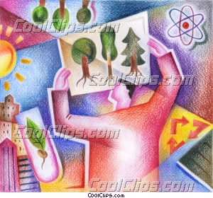 biologist Royalty Free Fineart Raster Illustration Clipart wb044191