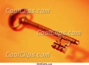 Key photo libre de droits clipart wb027737