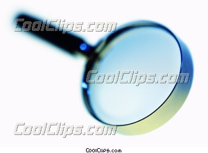 magnifying glass Royalty Free Stock Photo Clipart wb028139
