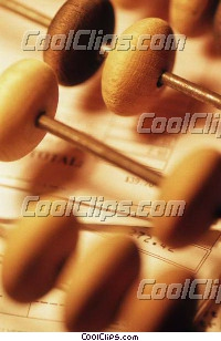 abacus Royalty Free Stock Photo Clipart wb031135