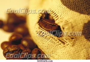 coffee beans Royalty Free Stock Photo Clipart wb032724