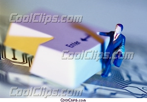 businessman Royalty Free Stock Photo Clipart wb032740