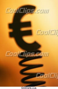 euro symbol Royalty Free Stock Photo Clipart wb032867