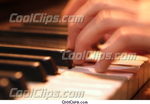 Pianiste photo libre de droits clipart wb043008