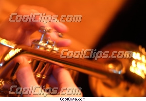trumpeter Royalty Free Stock Photo Clipart wb043054