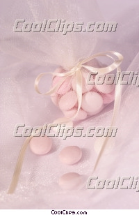wedding candies Royalty Free Stock Photo Clipart wb043218