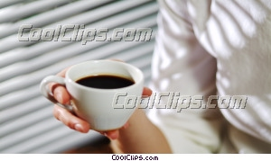 businesswoman having coffee Royalty Free Stock Photo Clipart wb043521