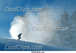 Ski alpin photo libre de droits clipart wb043747