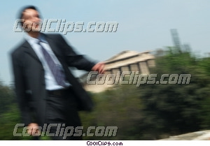 businessman in Greece Royalty Free Stock Photo Clipart wb044661