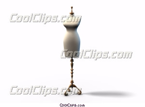 Mannequin Royalty Free Stock Photo Clipart wb045144