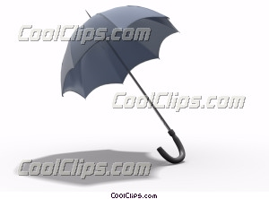 Umbrellas Royalty Free Stock Photo Clipart wb045194