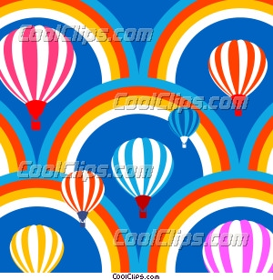 Hot Air Balloons and Rainbows