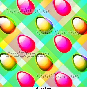 Easter Egg Checkerboard