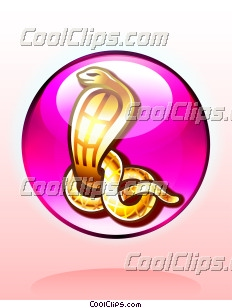 Egyptian Uraeus Cobra Snake Charm