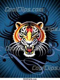Tribal Tiger's Roar