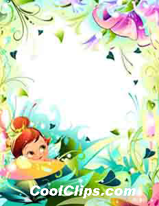 Garden Secrets Royalty Free Fineart Raster Illustration Clipart wb052837