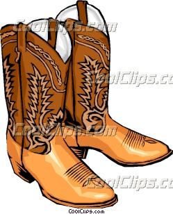 Cowboy boots Clip Art