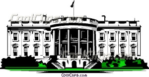 white house clip art rh dir coolclips com clipart of the white house in washington d.c clipart images black and white house