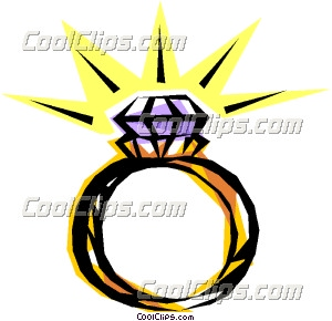 diamond ring clip art rh dir coolclips com wedding bands clip art free Wedding Border Clip Art