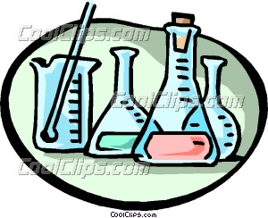 Science Lab Equipment Clipart Beakers