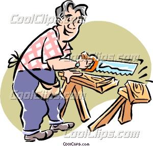Woodworking Shop Tools Clip Art