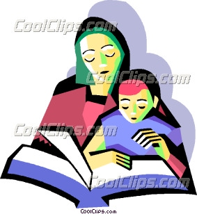 mother with child reading clip art rh dir coolclips com Super Reader Clip Art Students Reading Clip Art