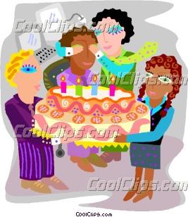 Employee Birthday Party Clip Art