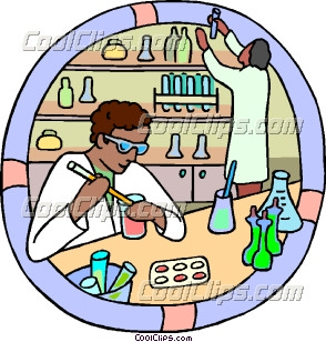 Healthcare, medical, lab technicians Clip Art