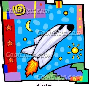 苏联航天飞机剪贴画