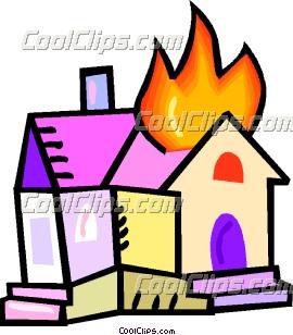 house on fire clip art rh dir coolclips com Big House On Fire Clip Art free house on fire clipart