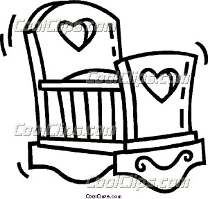 baby s crib clip art rh dir coolclips com baby jesus in crib clipart