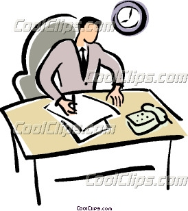 Clipart Office Worker