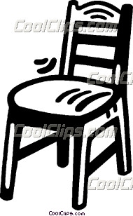 schlafzimmer stuhl vektor clip art. Black Bedroom Furniture Sets. Home Design Ideas