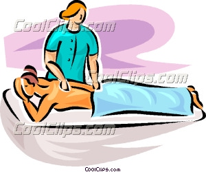 image La esposa recibe un masaje de un negro