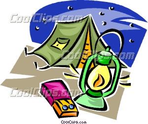 Camping Gear Clip Art