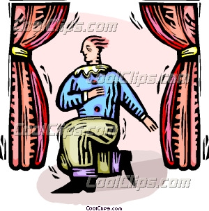 man acting on stage clip art rh dir coolclips com acting clipart black and white acting clipart