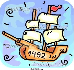 the nina christopher columbus ship clip art