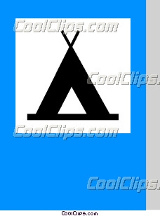 ЕС дорожный знак, кемпинг - Векторный Clip Art - CoolCLIPS.com
