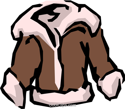 Bomber jackets Royalty Free Vector Clip Art illustration hous0545